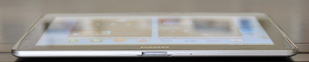 Galaxy Tab 2 10.1 - parte inferior