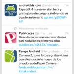 BlackBerry Z10: Twitter