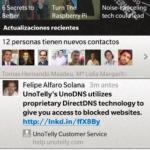 BlackBerry Z10: LinkedIn