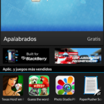 BlackBerry Z10: Tienda BlackBerry World