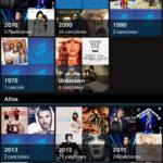 BlackBerry Z10: Reproducción por listas