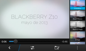 BlackBerry Z10: Storymaker