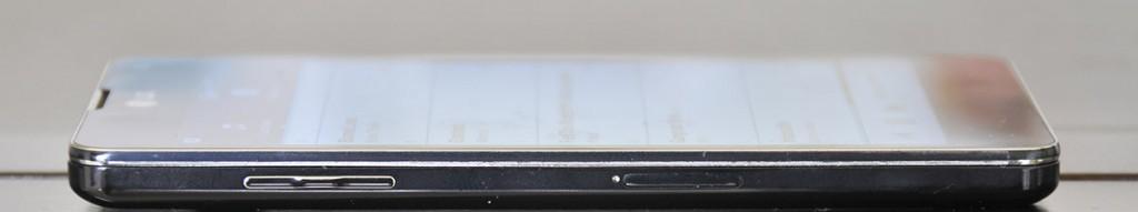 LG Optimus G - Lado izquierdo
