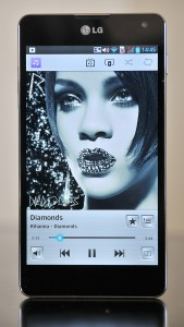 LG Optimus G - Musica