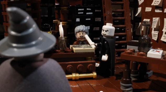 Lucha de magos en LEGO