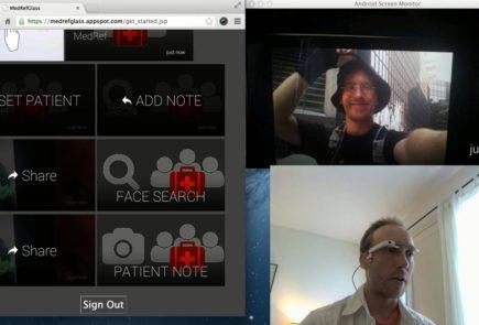 Reconocimiento facil para Google Glass