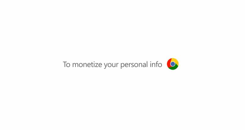 Parodia Microsoft anuncio Chrome