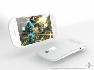 Diseño conceptual de iPhone curvado