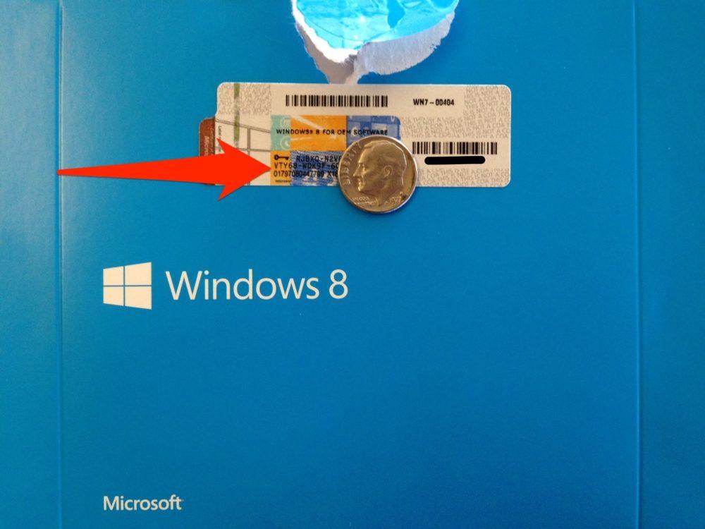 Clave Windows 8