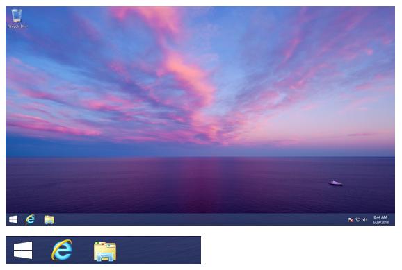 Botón de Inicio en Windows 8.1