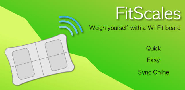 FitScales: Wii Balance Board con Android