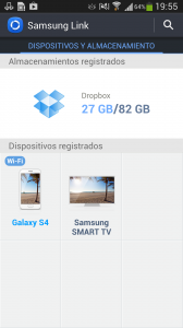Samsung Link en Galaxy S4