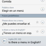 Frases predefinidas de S Voice