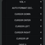 Botones a elegir
