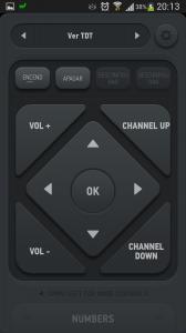 Mando inteligente con botones asignados