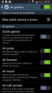 Air Gesture S4