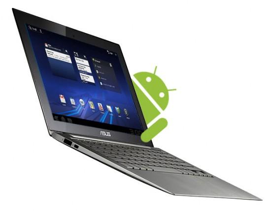 Portátil con Android