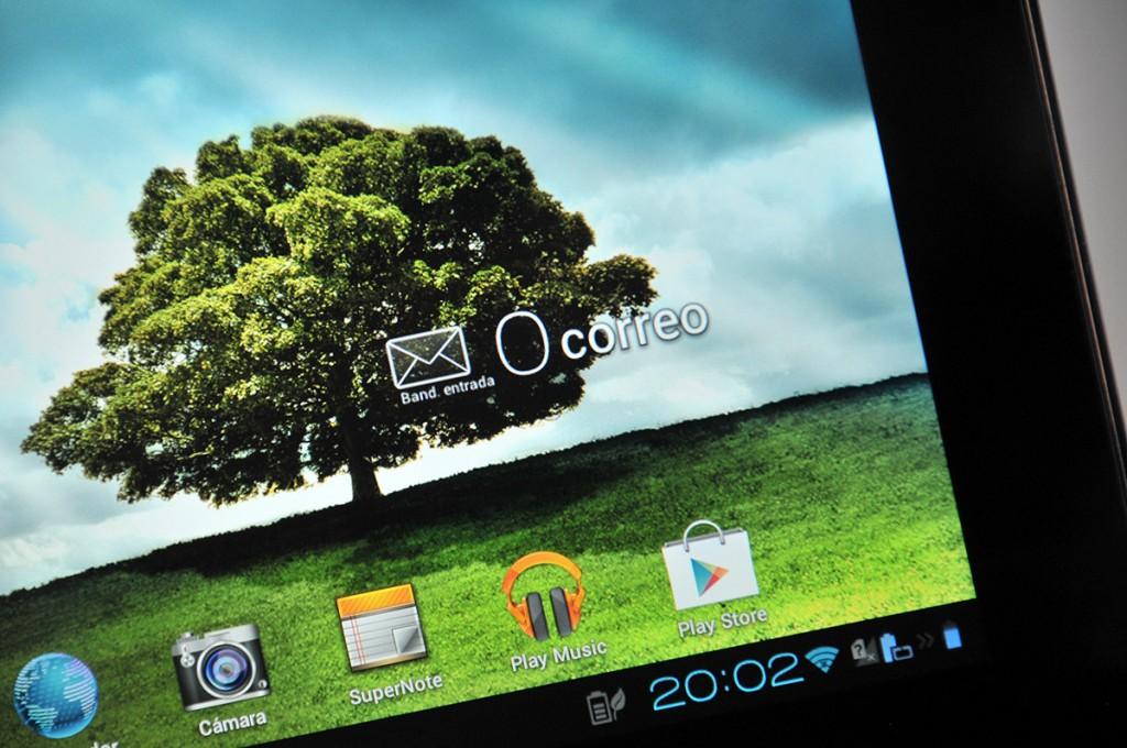 Asus PadFone 2 - Pantalla tablet