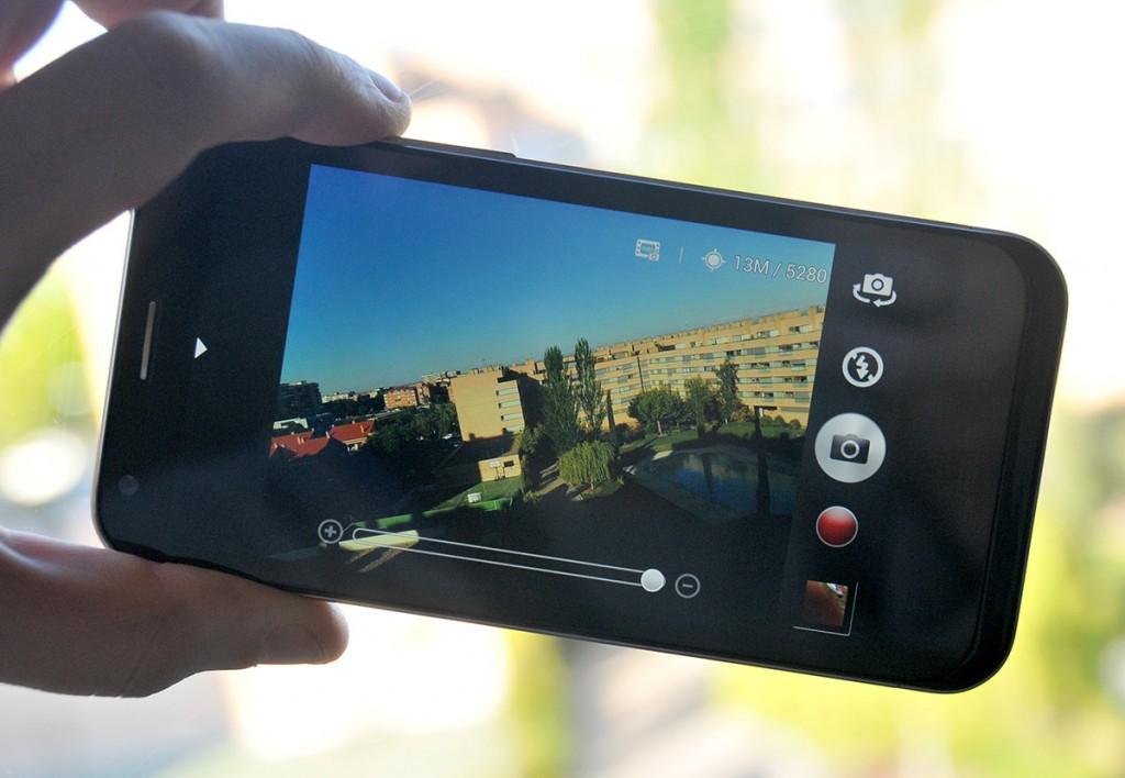 Asus PadFone 2 - cámara activa
