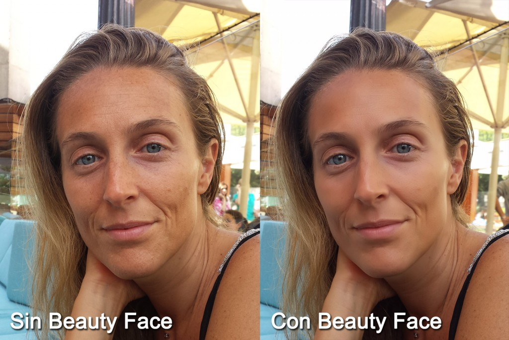 Samsung Galaxy S4 - Beauty Face
