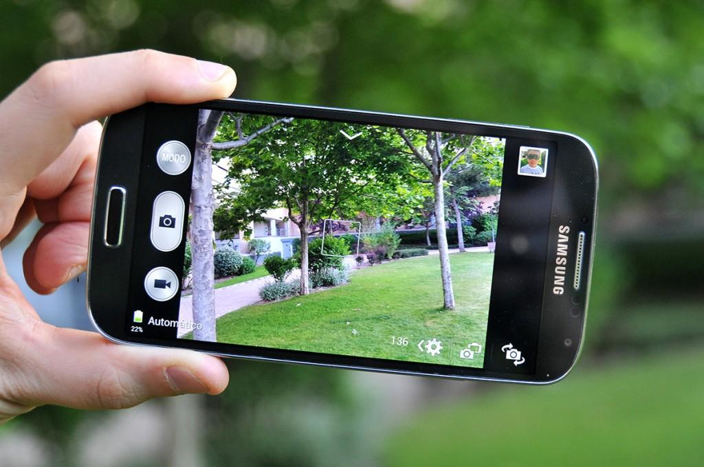 Samsung Galaxy S4 - Interfaz cámara