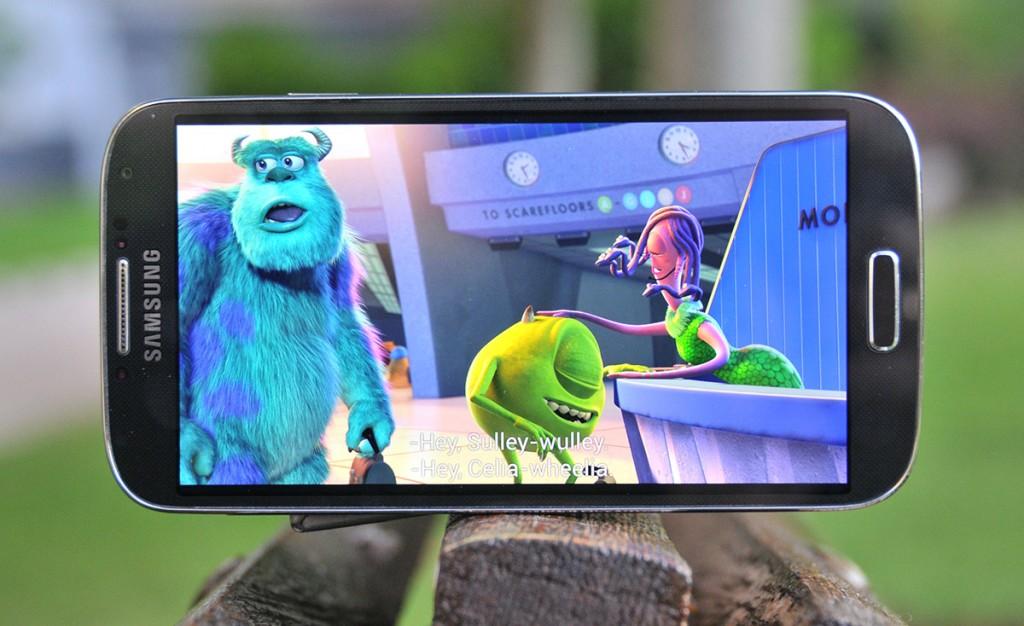 Samsung Galaxy S4: Reproducción de película