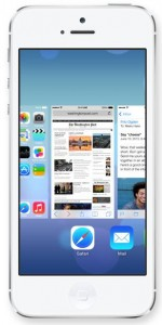 Multitarea en iOS 7