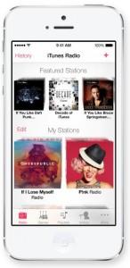iTunes Radio en iOS 7
