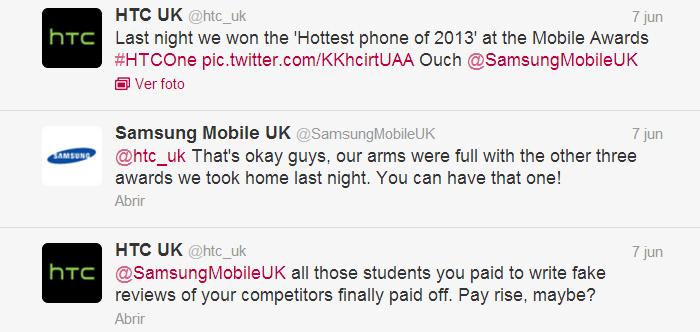 HTC contra Samsung
