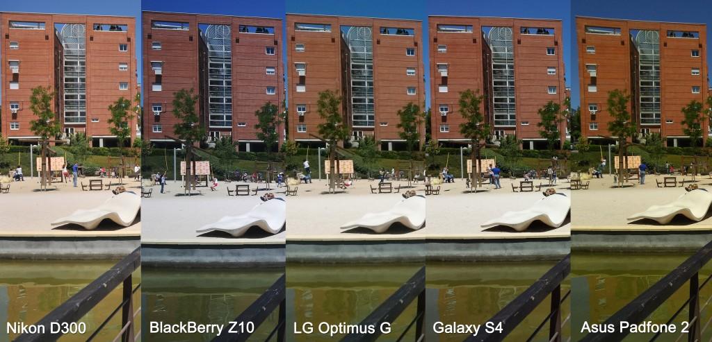 Comparativa de fotos: Nikon D300, BlackBerry Z10, LG Optimus G, Samsung Galaxy S4 y Asus PadFone 2