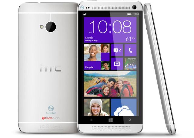 HTC One Windows Phone 8