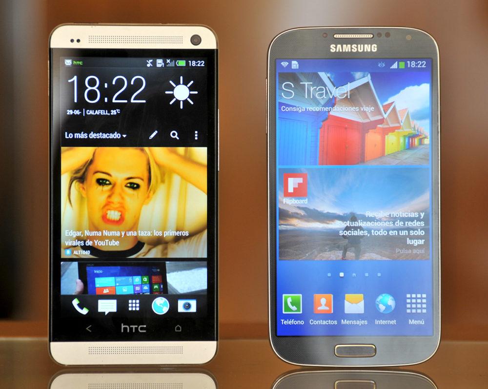 HTC One y Galaxy S4