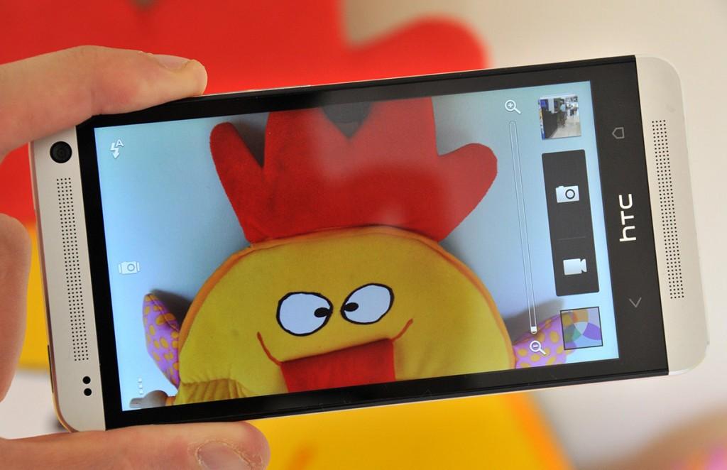 Interfaz cámara HTC One