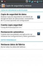Borrar datos en Android
