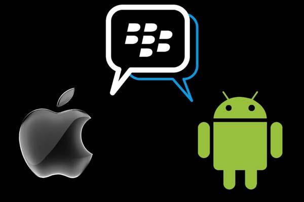 BBM para Android e iOS