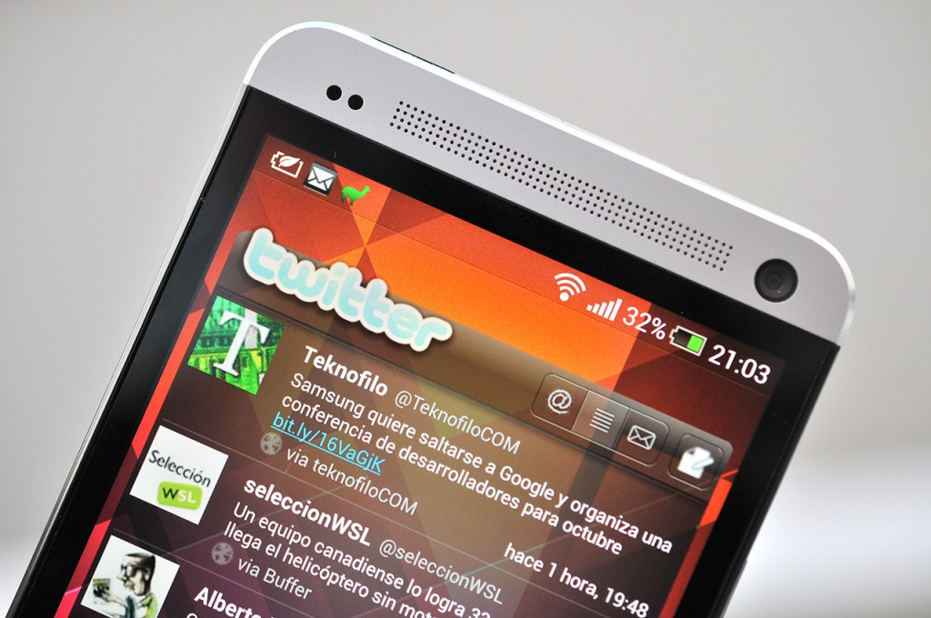 HTC One - pantalla