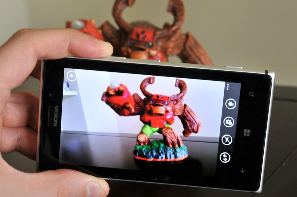Nokia Lumis 925 - camara