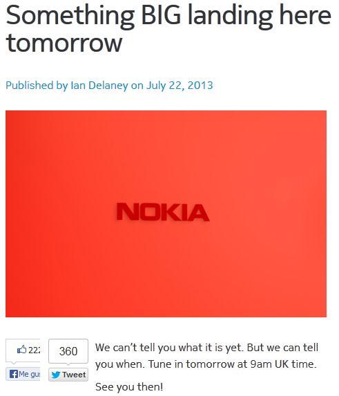 Anuncio Nokia