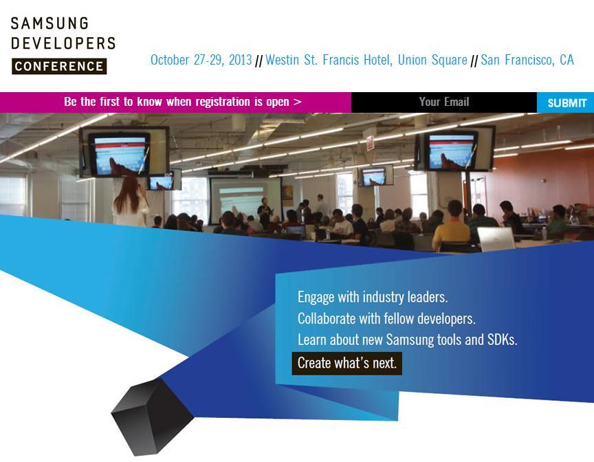 Conferencia de Desarrolladores de Samsung