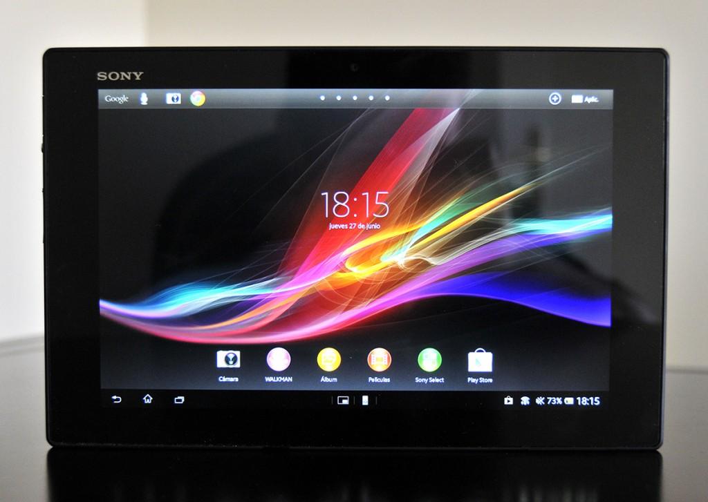Sony Xperia Z - frontal