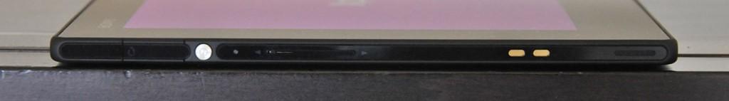 Sony Xperia Z - izquierda