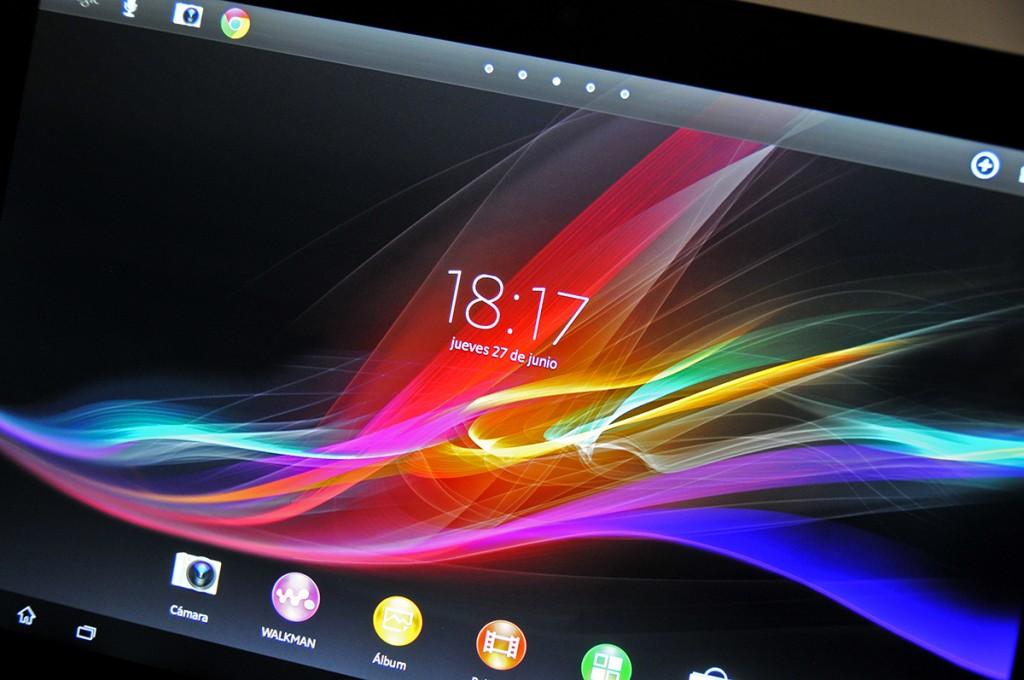 Sony Xperia Z - pantalla