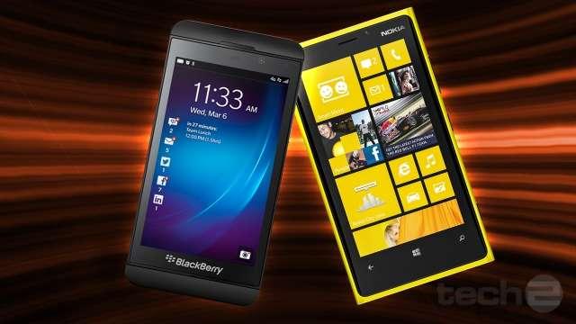 BlackBerry Z10 y Lumia