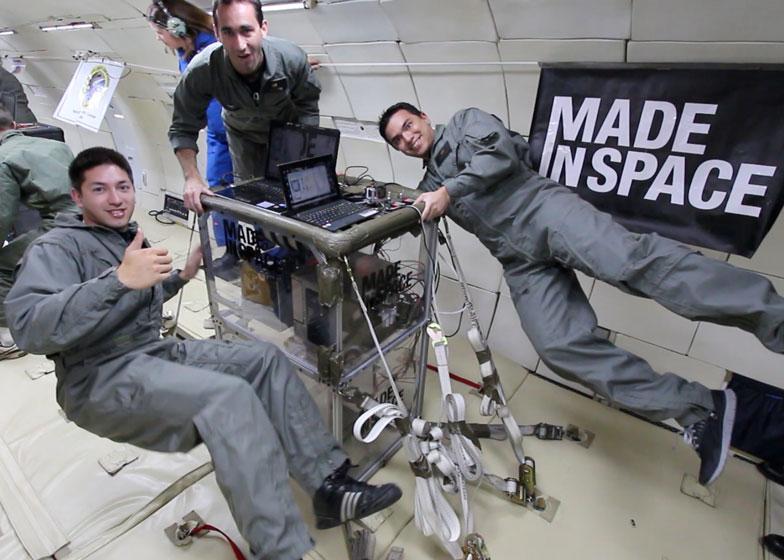 NASA Impresora 3D