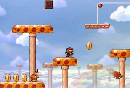 Super Mario Bros en HD