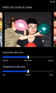 Calibración de color
