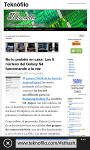 Teknofilo en Lumia 925