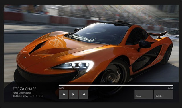 Xbox One grabando