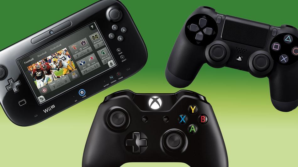 Xbox PS4 Wii U