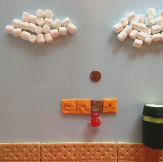 Super Mario Bros en Vine